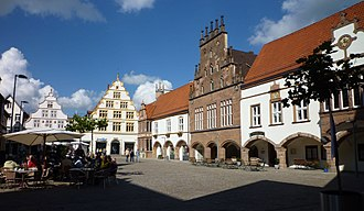 Town - Lemgo, an old hanseatic town in Germany