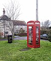 Lending Library in K6 phone box, Stanton Wick. - panoramio.jpg