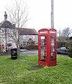 Lending Library in K6 phone box, Stanton Wick. - panoramio.jpg