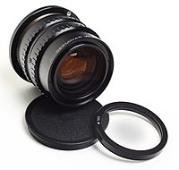 Lens - Carl Zeiss jena APO-Germinar W B-150 and optical filter.jpg