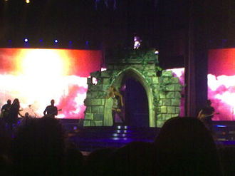 "Don't Let Me Down (Leona Lewis song) - Lewis performing ""Don't Let Me Down"" during The Labyrinth tour in Sheffield."