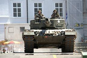 Leopard 2A4 of the Bundesheer