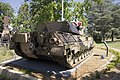 Leopard tank located on the front of the Canberra Services Club site.jpg