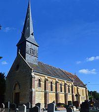 Les Authieux-Papion Church.JPG