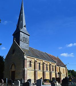 Les Authieux-Papion Church.JPG