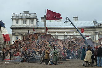Les Misérables (2012 film) - The film's set at Greenwich Naval College.