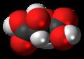 Levotartaric acid 3D spacefill.png