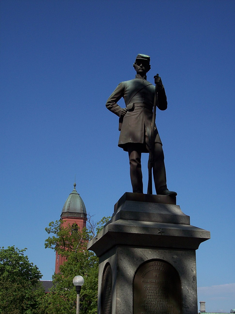 Lewiston Civil War Statue