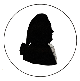 Anders Johan Lexell - Silhouette by F. Anting (1784)