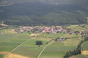 Lichtenfels, Hesse - Aerial photograph (2013)