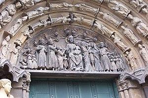 Liebfrauenkirche, Trier - Image: Liebfrauen Trier aussen BW 2