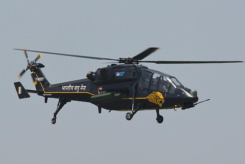المروحية الهجومية الخفيفة الهندية Light Combat Helicopter! 800px-Light_Combat_Helicopter_first_flight