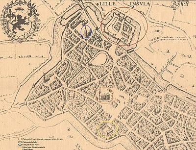 Lille en 1580 (positions des bâtiments disparus).jpg