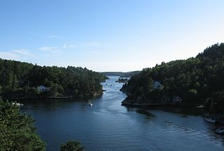 Lillesand Municipality in Agder, Norway