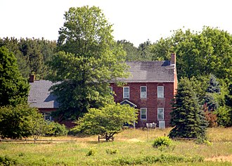 National Register of Historic Places listings in Caroline County, Maryland - Image: Linda Roy Walls Red Brick Farm, Caroline Co MD