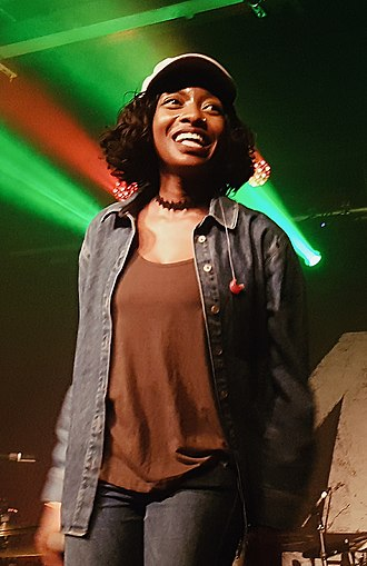 Little Simz - Image: Little Simz Performing