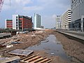 Liverpool Canal Link - working in Princes Dock 2 - geograph.org.uk - 1700804.jpg