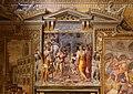 Livio agresti, Pietro d'Aragona offre il regno a papa Innocenzo III, 1561-63, 02.jpg