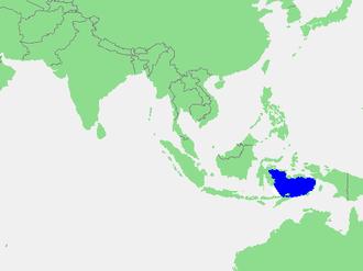 Banda Sea - Location of the Banda Sea in Southeast Asia