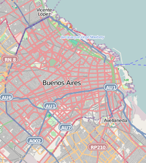 Unofficial Neighbourhood in Belgrano, Buenos Aires, Argentina
