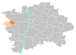 Location map municipal district Prague - Praha 17 Řepy.PNG