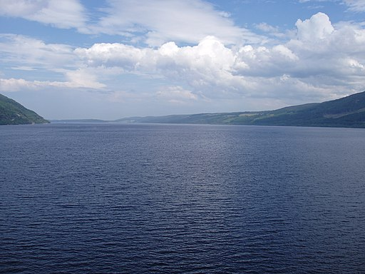 Loch Ness from Urquhart Castle - kingsley - 30-JUN-09