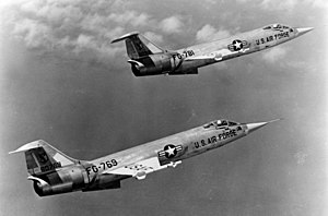 Lockheed F-104 Starfighter - Lockheed F-104A