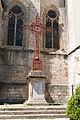 Lodève-Église saint Fulcran-Croix de mission-20140627.jpg