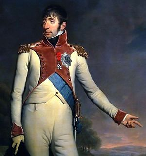 Order of the Union - Louis Napoleon with star and grand sash of the order.