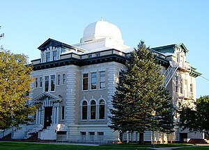 National Register of Historic Places listings in Logan County, Colorado - Image: Logan County Courthouse