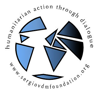 Sérgio Vieira de Mello - Logo of the SVDM Foundation.