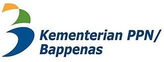 Cabinet of Indonesia - Image: Logo Badan Perencanaan Pembangunan Nasional