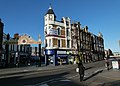London-Woolwich, Woolwich New Rd & market.jpg