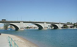 London Bridge, Lake Havasu, Arizona, 2003.jpg