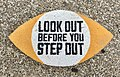 Look out sign at road crossing in Kingscliff, New South Wales.jpg