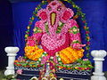 Lord Ganesh in one of the Pendals at Junagarh, Kalahandi in 2011.jpg