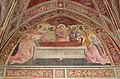 Lorenzo monaco, cappella bartolini salimbeni, dormizione di maria, 1420-24, 01.JPG