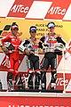 Loris Capirossi, Dani Pedrosa and Nicky Hayden 2007 Sachsenring.jpg