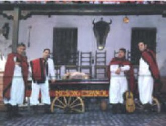 Music of Argentina - Folk music quartet Los Fronterizos, 1959