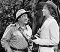 Lou Costello-Hillary Brooke in Africa Screams.jpg