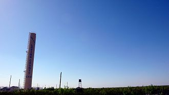 Loving County, Texas - Water tower in the county