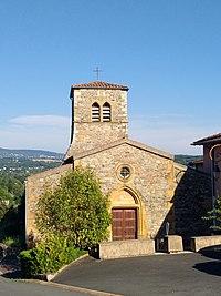 Lozanne - Église Saint-Maurice 4 (août 2018).jpg