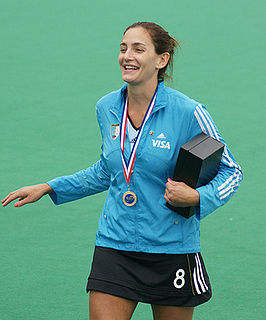Luciana Aymar Argentinian field hockey player