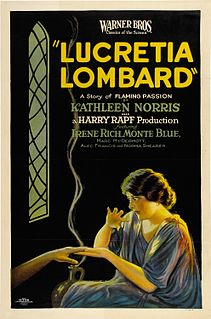 <i>Lucretia Lombard</i> 1923 film by Jack Conway