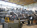 Luftwaffenmuseum Gatow Hangar 8 Depot Triebwerkssammlung 1.JPG