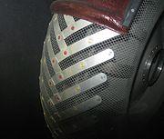 Lunar Roving Vehicle wheel close-up