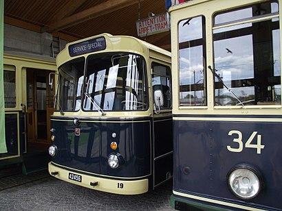How to get to Musée Des Tramways Et De Bus with public transit - About the place