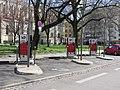 Lyon 2e - Bornes recharge véhicules électriques rue Ravat (mars 2019).jpg