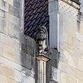 Münster, Prinzipalmarkt, Skulptur am Giebel -- 2019 -- 3571.jpg