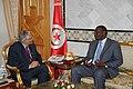 M. Abdallah Turki reçoit l'Ambassadeur du Sénégal à Tunis (6672584965).jpg